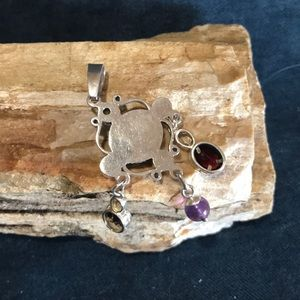 Jewelry - Artisan made Sterling Silver and Gemstone Pendant